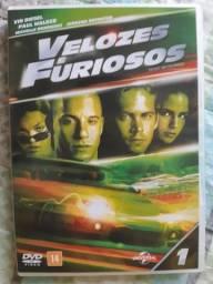 Dvd's Velozes e Furiosos de 1 a 6