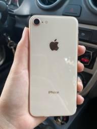 Iphone 8 64gb gold / troco