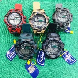 Relógios Sportivos Camuflados