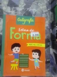 Livro de caligrafia