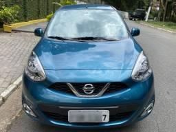 Nissan March 1.0 12v SV 5p Azul Manual