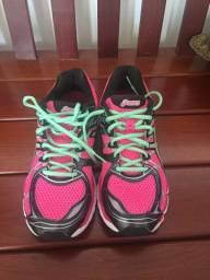 Tênis asics rosa