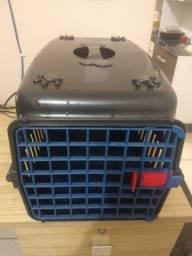 Caixa de transporte p/ cachorro e gato