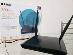 Roteador Wi-Fi +modo repetidor D-Link DIR-615