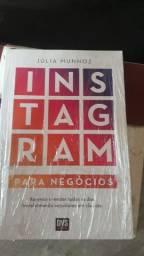 Livro Instagram para negócios.