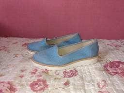 Sapato Molekinha Azul