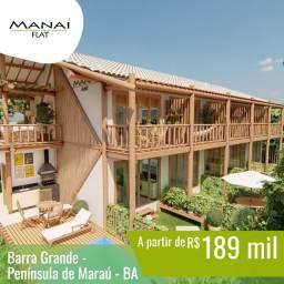 MANAÍ FLAT - Barra Grande/BA - Flats de 35 ou 48m²