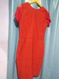 Vestido vermelho Lindo