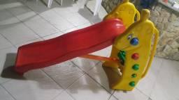 Escorregador Girafinha Brinquedos Ac, cartão credito São Gonçalo