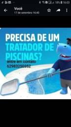 Título do anúncio: Limpando de piscina