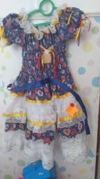 Vestido Junino 3 anos