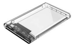 "Case Transparente para HD Sat 2.5"" USB 3.0"