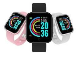 Relógio Inteligente Smartwatch D20 Y68 Android Ios Varias Cores