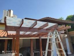 Título do anúncio: Coberturas em policarbonato toldo e fachadas