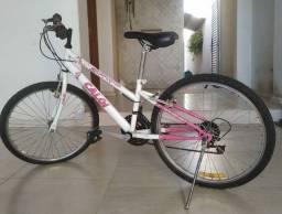 Bicicleta caloi feminina aro 24