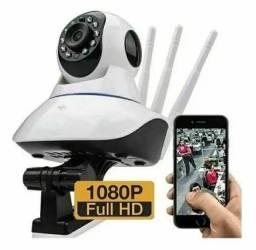 Câmera de segurança IP Sem fio 1080p FullHD (ENTREGA GRÁTIS)