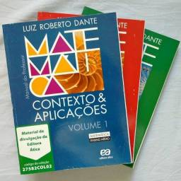 Título do anúncio: Matemática. Contexto e Aplicações / Luiz Roberto Dante / 3 volumes