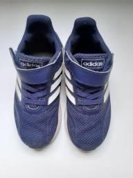 Sapato adidas infantil n°24 original.