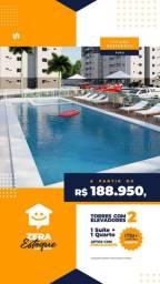 """""""119 apartamentos no Turu com suite e porcelanato, entrada facilitada!!!"""