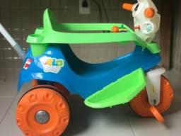 Velobaby Bandeirante Passeio & Pedal - Azul