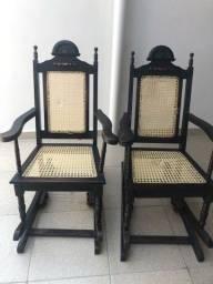 Título do anúncio: Cadeiras de Embalo (Palhinha)