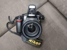 Título do anúncio: Câmera Nikon D80