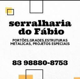 Título do anúncio: Serralharia do fabio