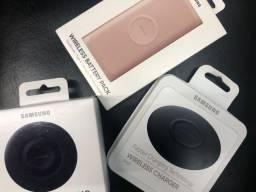 Título do anúncio: Carregador  Wireless Samsung - + Nota Fiscal