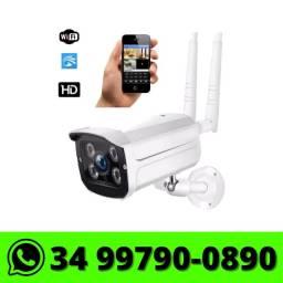 Título do anúncio: Câmera Wifi Ip Externa It-Blue - Monitorada via celular