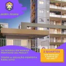 Título do anúncio: LZ- 2/4 na Aruana- more pertinho da praia,!!!