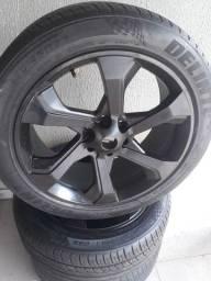 Título do anúncio: Jogo Roda aro 22 com pneus
