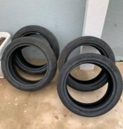 4 pneus 205/40 roda 17<br>
