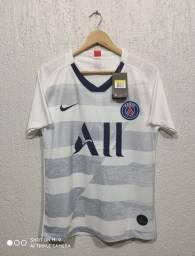 Camisa Psg- Paris Saint-Germain aquecimento 20/21