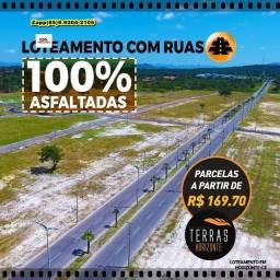 Título do anúncio: Terras Horizonte - Loteamento - Marque sua visita %%%
