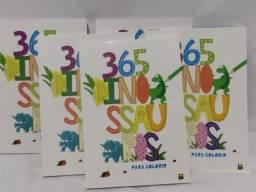 Livros Infantil 365 Histórias Bíblicas e 365 Dinossauros Para Colorir