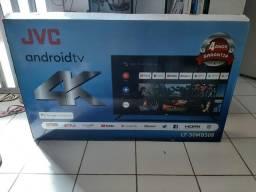 "Smart 4K 50"" Android JVC Ultra HD HDR Wi-Fi Bluetooth NOVA ENTREGO"
