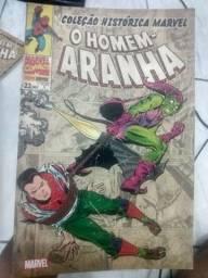 Coleção histórica do Homem-Aranha Volumes 1,2 e 3