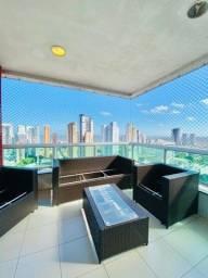 42 - Apartamento 4 suítes, 3 vagas de garagem, 195m²