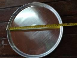 Forma de alumínio para pizza 28,5 cm