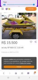 Título do anúncio: Jet Ski Sea Doo XP 800 CC 110 HP