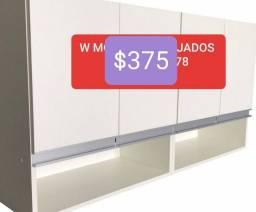 Título do anúncio: Armário de cozinha de parede 100% MDF  com 4portas promoção tenho outros modelos também