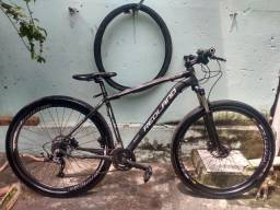 Bicicleta aro 29 freios hidráulico