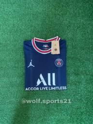 Título do anúncio: Camisa do PSG ( CASA E FORA) 2021/2022