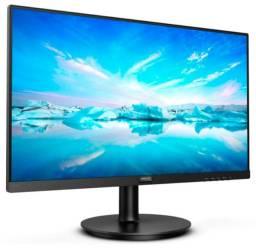 "Monitor Philips Led LCD 21,5"" Full Hd Hdmi Va - 221V8 - Loja Fgtec Informática"