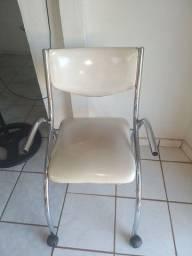 Cadeira de estudante .