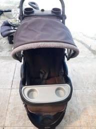 carrinho + bebê conforto + cadeirinha carro importado Baby trend