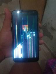 Vendo  moto g4 Plus display quebrado