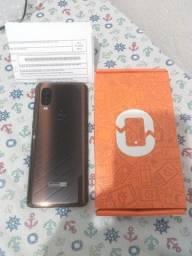 Motorola One Vision semi-novo bronze