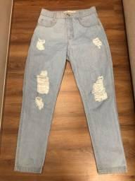 Calça Jeans Nova - Tamanho 38 e 40