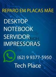 Reparo em Placa Mãe - Desktop - Notebook e Servidor